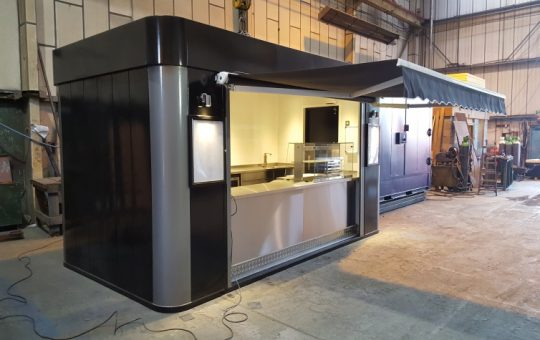 Container & Site Cabin Services Launch Pod Tech Brand with help from the Knowsley Growth Hub
