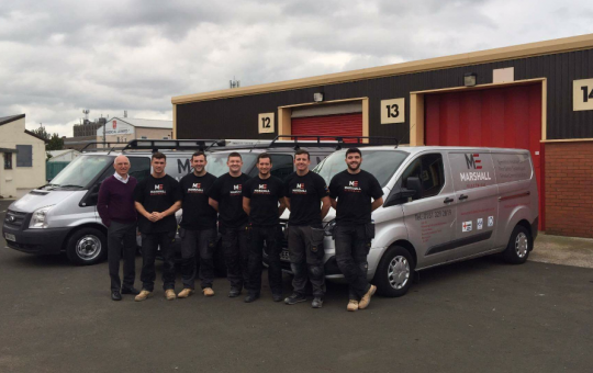 Marshall Electrical Achieve Industry Standard with Support from Knowsley Growth Hub