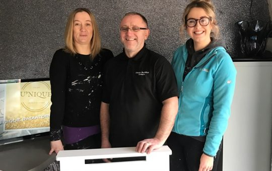 Knowsley Growth Hub Help Unique Radiators in the First Year of Trading