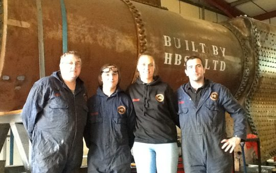 Heritage Boiler Steam Services – Rebuilding our steam heritage